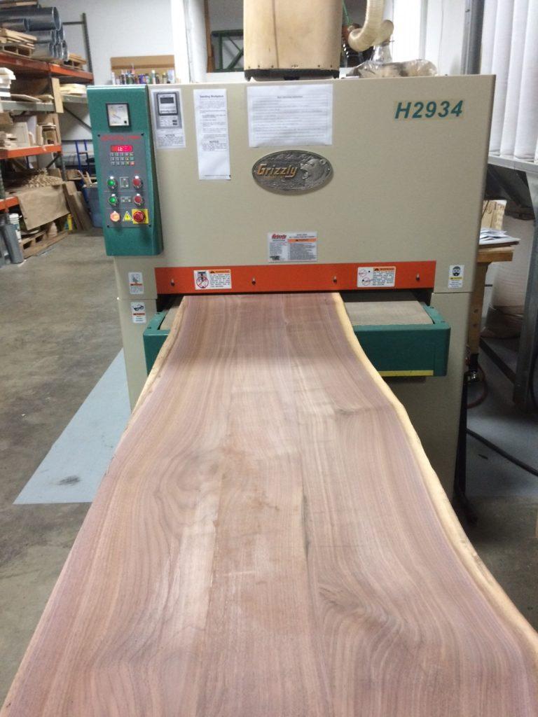 wide belt sanding